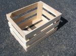 Item # 1001: Handcrafted 2/3 Bushel Field Crate, Oak hardwood, Qty: 1