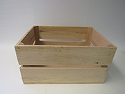 Item No 1002   Bushel Field Crate, Handcrafted, Oak hardwood, Qty: 1