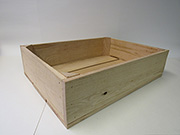 Item No 1006,  1/2 Bushel Field Crate