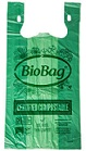 Item No 1012 20 lb Compostable T-Shirt Bag  500 pack