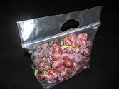 Item No 1017 Bag 2 1/2 quart Grab-N-Go clear, vented, 500 pcs