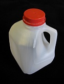 Item No 1032: Quart Plastic Jug w/ Lid, Qty: 36
