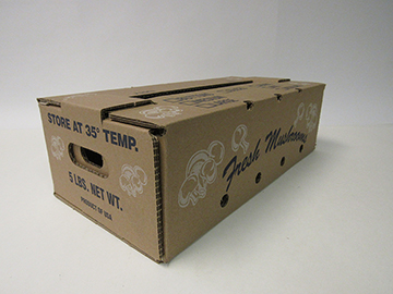Item No 1065     Mushrooms Box, 5 pound, 500 Pack