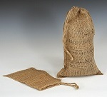 Item No 1094 Burlap Drawcord Bag 6 x 10 inches 500 pack
