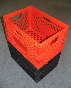 Item No 1120 Heavy Duty Plastic Crate, Stackable