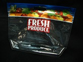 Item No 1157  Bag Produce Clear, Vented Grab-On-Go Handle 500 pack