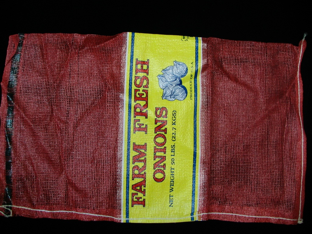 Item No 1190 50 Pound Leno Mesh Onion Bag With Drawcord Qty 1 000