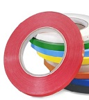 Item No 1228 Produce Tape  Red, 22 mm x 100 m per roll, 2 pack