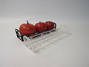 Item No 1253 Tomato Tube, Black Mesh Tray 280 pack