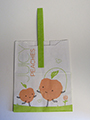 Item No 1262  Peach Tote Paper Bag 500 pack