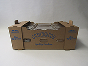 "Item No 1282 Clam Shell Till Shipper Carton, ""Fresh Produce"", 350 pack"