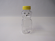 Item No  1340 Honey Bear Bottle, 12 ounce, with cap 12 pack