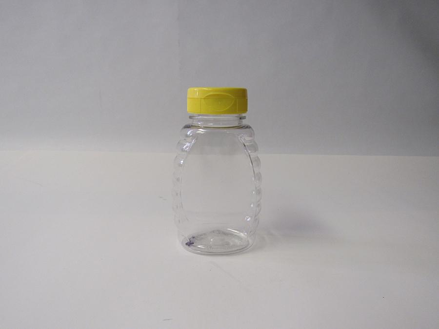 Item No 1344 Bottle Cap Plastic 8 Oz Honey 12 Pack Bottle Honey 2 1
