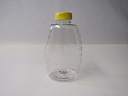 Item No 1347 Bottle Plastic 32 oz Queen Honey, with cap 12 pack