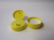 Item No 1348  Cap,  Flip Top, yellow, 1,700 pack