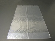 "Item No 1371   14"" x 20"" with 4"" Bottom Gusset Wicketed Clear Plastic Bag 500 Pack"