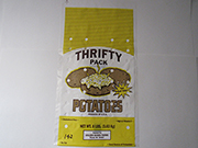 "Item No 142 Potato Plastic Bag, ""Thrifty Pack""  8 lb. 1,000 pack"