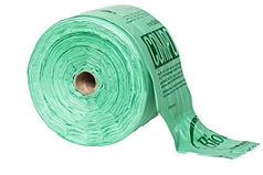 "Item No 1436 Compostable Produce Bag Roll, 15""x 17""  1,300 pack"