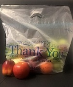 Item No 1444  Tamper-Evident Vented Produce Bag, 500 pack