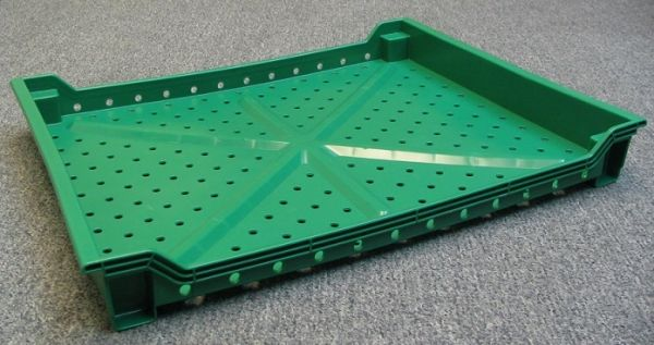 Item No 1696 Shallow style Berry Harvesting Tray Vented