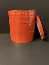 "Item No 1710  Red Produce Tape, 3/8"" x 540' per roll, 16 pack"