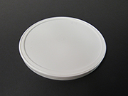 Item No 371  Lid, HDPE Plastic, White, 522 pack
