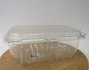 Item No 432  Four Quart Clam Hinge Container, 144 pack
