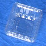 Item No 456  Pint Vented Clam Hinge Container, 480 pack