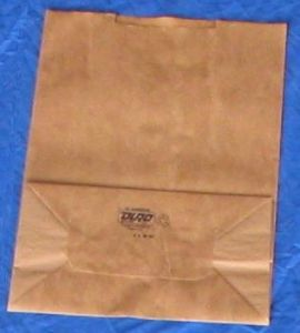 #510  Grocery Bag, brown, 16 lb., 1000 pack