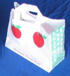 Item No 534  Peck Plastic Apple Tote Bag 500 pack