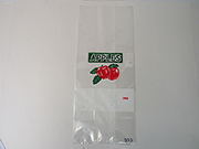 Item No 553  10 LB, 1 Peck, Vented Plastic Apple Bag, 500 Pack