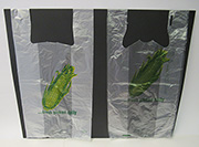 Item No. 568  T-Shirt 1/6 Size Poly Bag, Corn, 1,000 pack