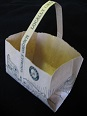 "Item No 577  Two pound paper Tote Handle Bag ""Locally Grown"" 500 pack"