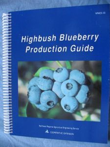 Item No 601 Highbush Blueberry Production Guide 200 Pages