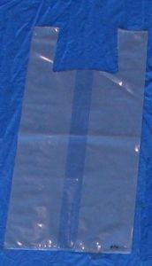 Item No. 671  T-Shirt Poly Bag, clear, 1 peck, 500 pack