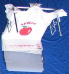 Item No 675  T-Bag 1/6 Counter Dispenser Rack