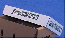 Item No 725 Tomato Cover for # 778 Carton, 700 pack