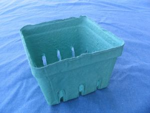 Item No 744 Pint Pulp Berry Till/Basket, Biodegradable, light green, Qty: 500