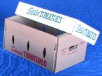 "Item No 778, Tomatoes 25 pound Carton, ""Selected "", kraft, 350 pack"