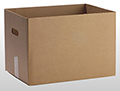 Item No 825  One Bushel Carton Base, Brown Corrugated, 500 pack