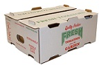"Item No 849,  18 or more pounds Shipper Master, ""Fresh Tomatoes""  250 pack"