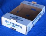 "Item No 862  Clam Shell Till Shipper, ""Blueberries""   1,400 pack"