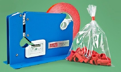 Item No 898  Poly Bag Closer, Hand Operated with Bag Trimmer