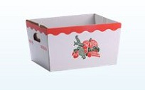 Item No 909  1/2 Bushel Corrugated Hamper Box,250 pack