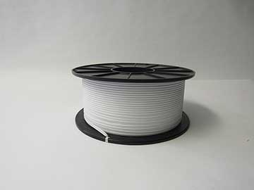 Item No 971  Twist Tie Material, paper/plastic, white 3,000 feet roll