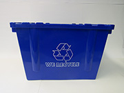 Item No 999  Recycle Bin, Vented, 1.6 bushel