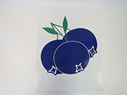 Item No P21BLU Blueberries Road Sign