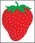 #P21STR Strawberry Road Sign