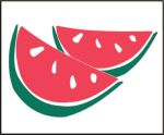 Item No. P21WAT Watermelon Road Sign