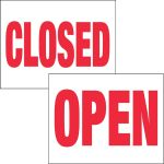 Item No P26OPNCLOSE Open/Closed Marketeer